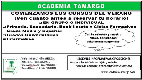 CLASES DE VERANO
