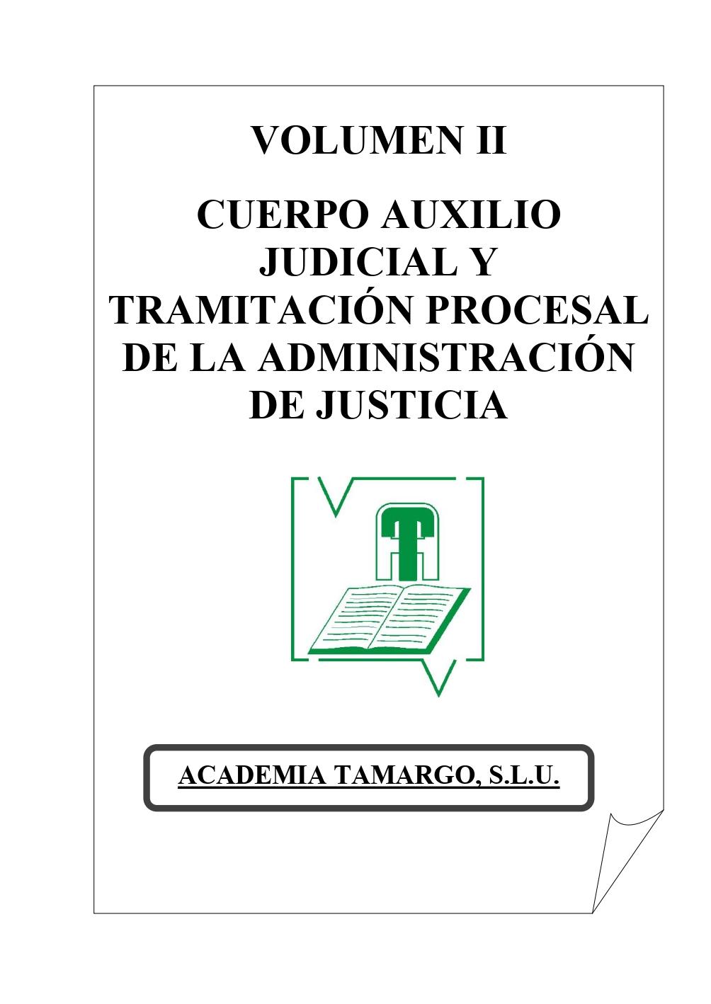 Vol II. Auxilio judicial y tramitacion procesal 2019_page-0001