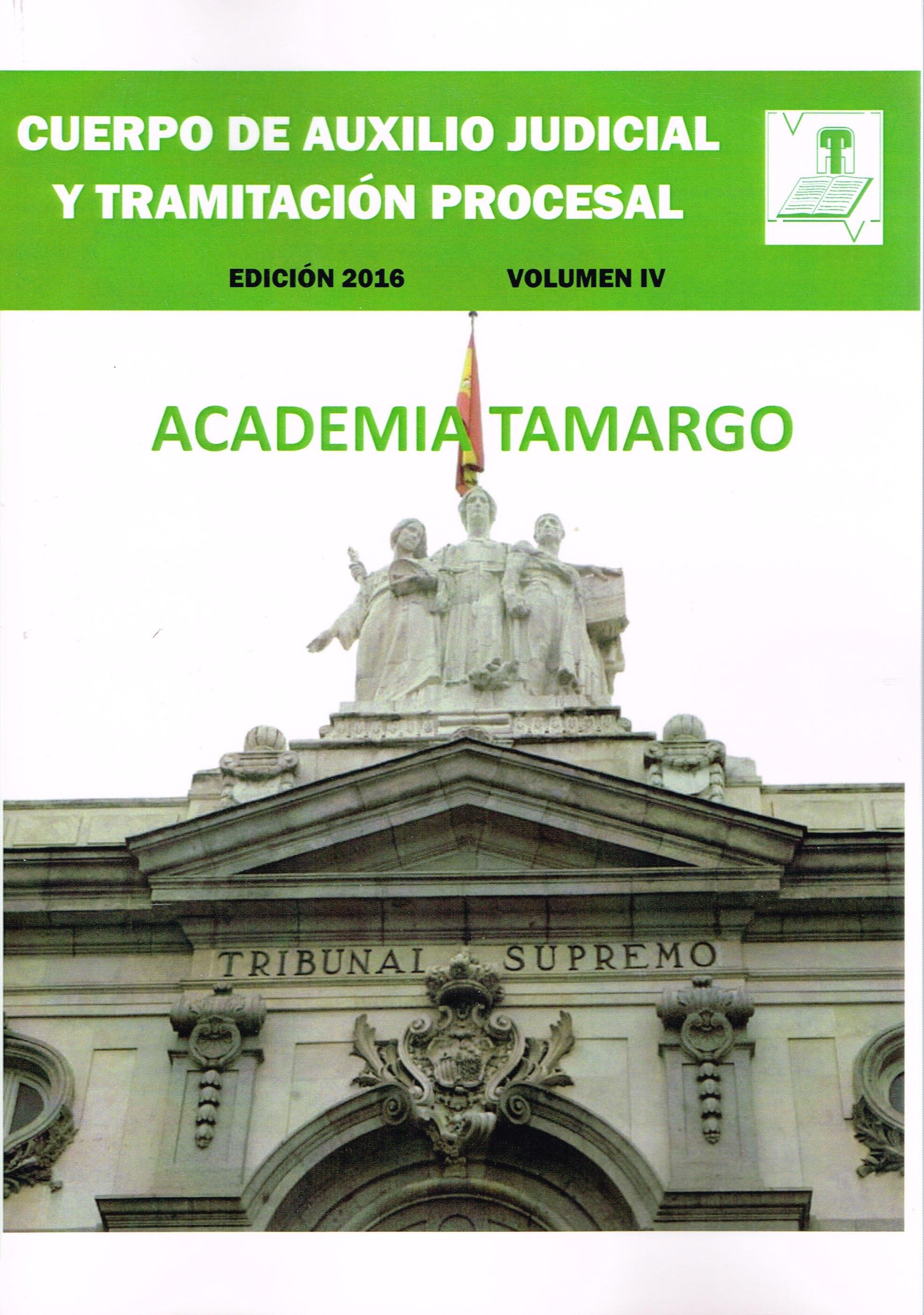PORTADA TRAMITACIÓNPROCESAL VOLUMEN IV