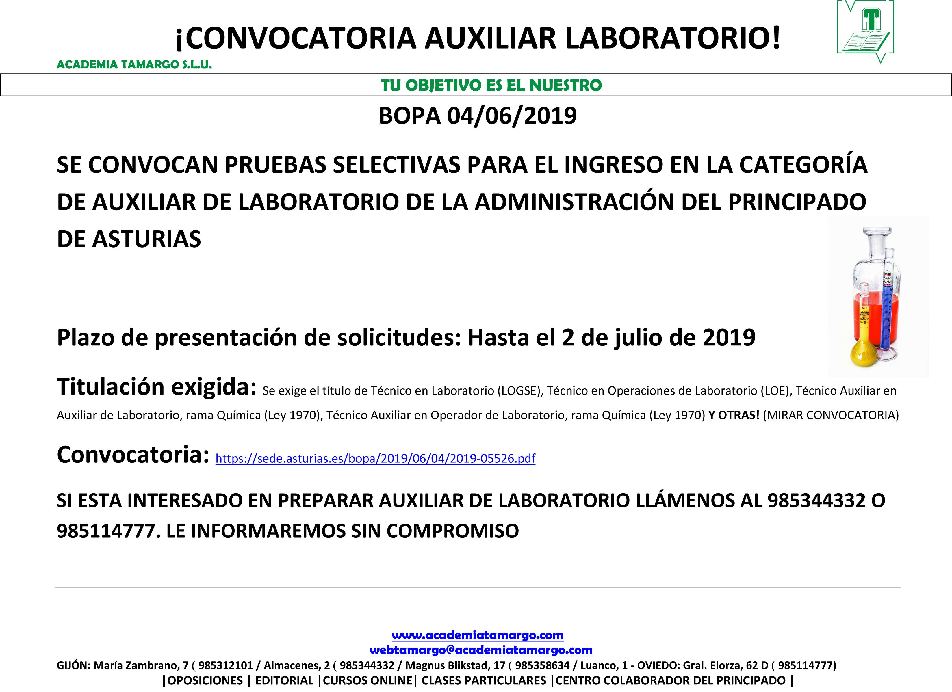 Microsoft Word – CONVOCATORIA AUXILIAR LABORATORIO.docx