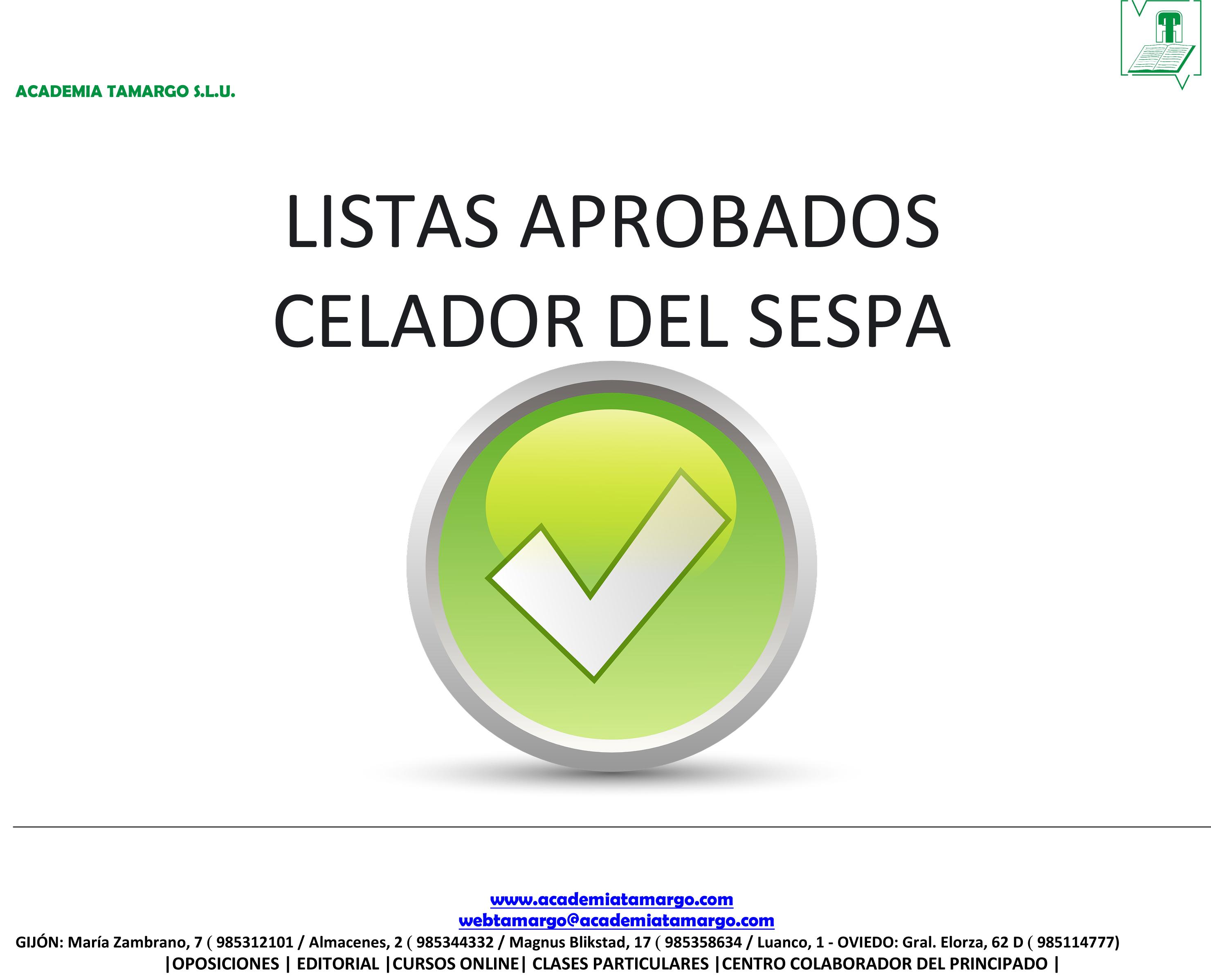 Microsoft Word – LISTAS APROBADOS CELADOR SESPA.docx