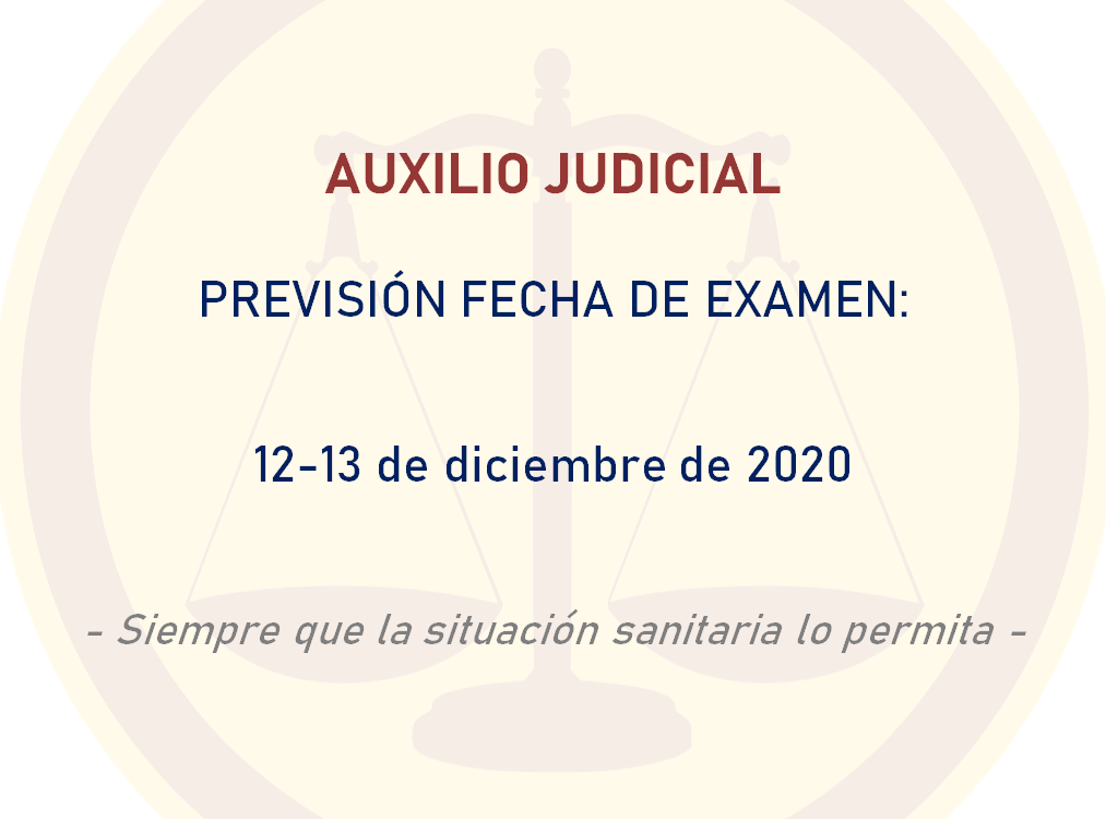 Examen Auxilio Judicial