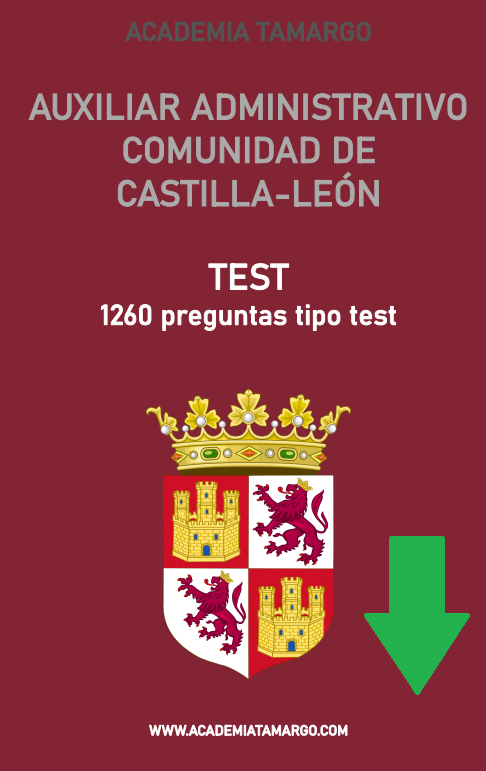 Test Aux Advo Castilla y León Descargable