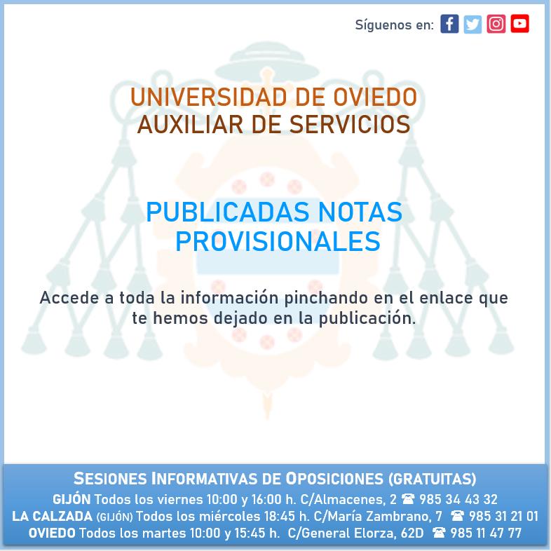 AuxServUNIOVI_NotasProvisionales
