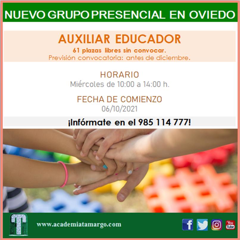 Auxiliar Educador Oviedo
