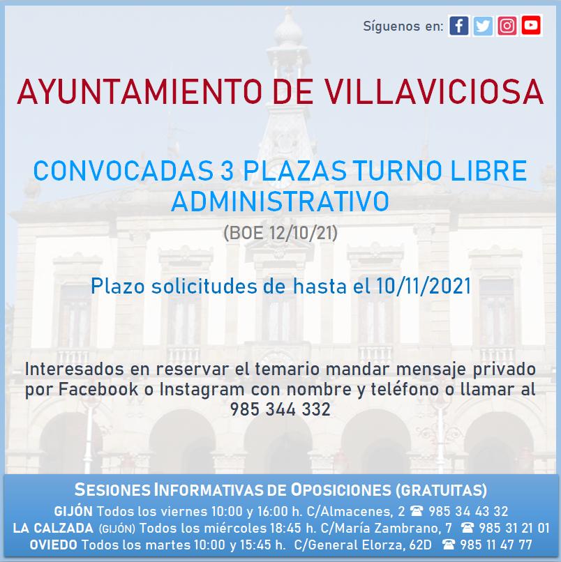 Convocadas Ayto Villaviciosa