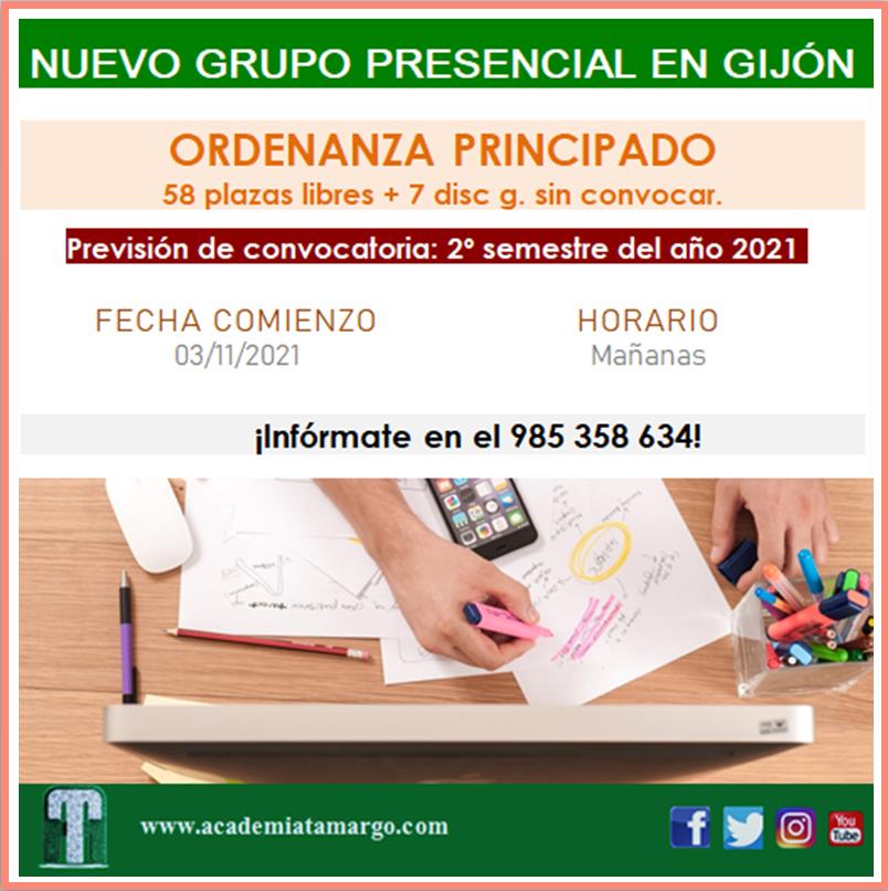 OrdenanzaPrincipado GrupoPresencial III